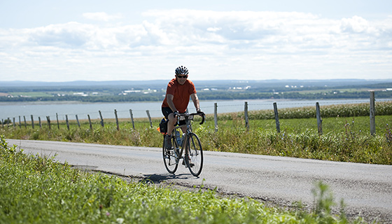 Vermont & Quebec Biking